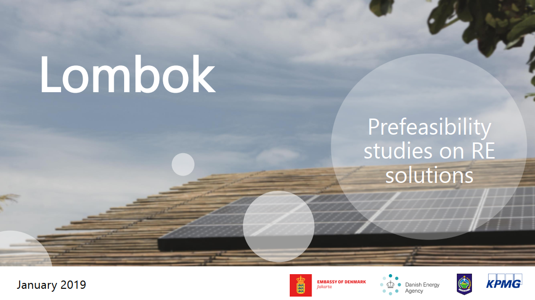 Prefeasibility Studies on RE Solutions : Lombok January 2019 - KPMG